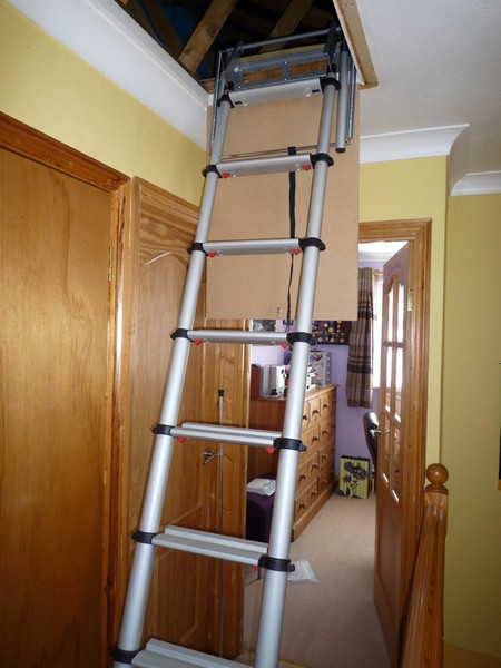 Ladders For Lofts Concertina And Telescopic Ladders