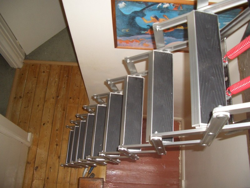 Supplied And Fitted From £295.00. Home · Aluminium Ladders · Wooden Loft  Ladders Folding ...